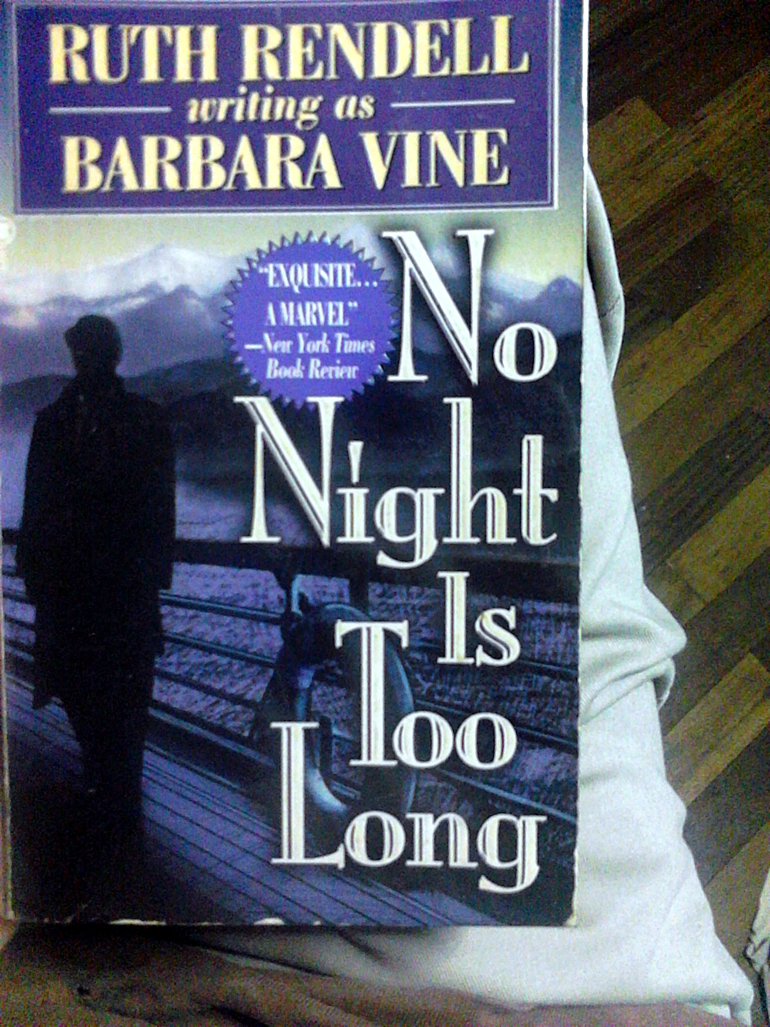 No Night Is Too Long Book